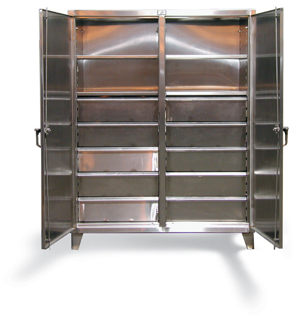stainless-steel-double-shift-cabinet-with-drawers