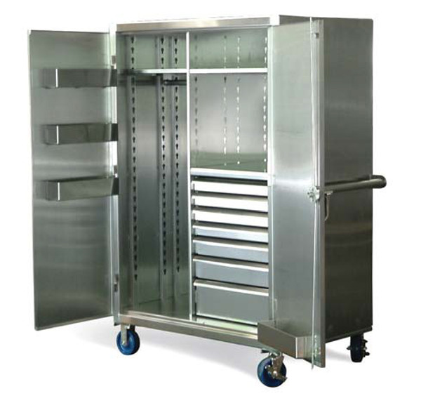 stainless-steel-mobile-wardrobe-cabinet-with-drawers