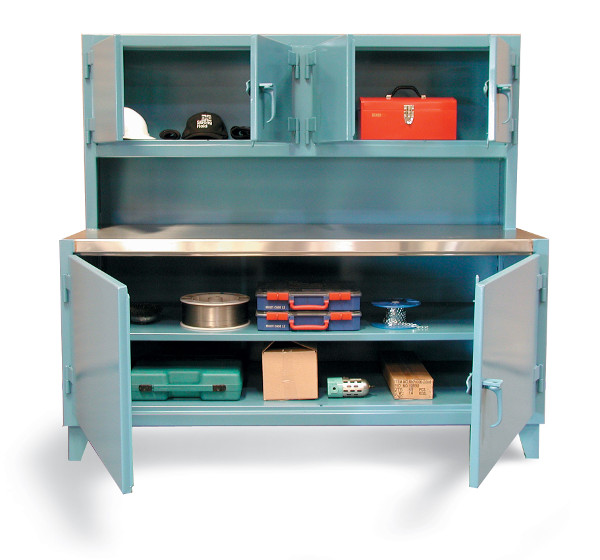 workstation-with-upper-compartment-and-stainless-steel-top