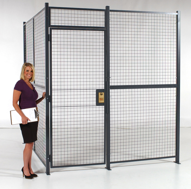 Wire Partitioning - Wire Storage Cages - Guard Rails ...