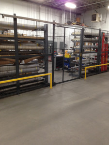 wire partition tool cage
