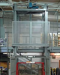 Freight material handling Lifts