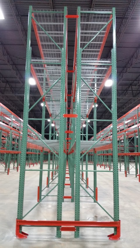 END OF AISLE RACK PROTECTION AND ROW SPACERS