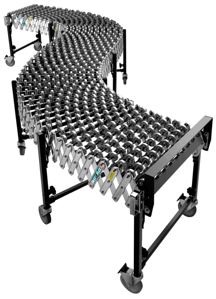 Accordion roller conveyor from CMH